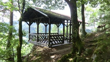 Pavillon auf dem Moserstein