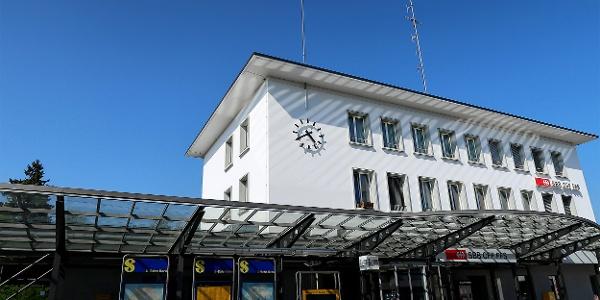 Bahnhof Burgdorf.