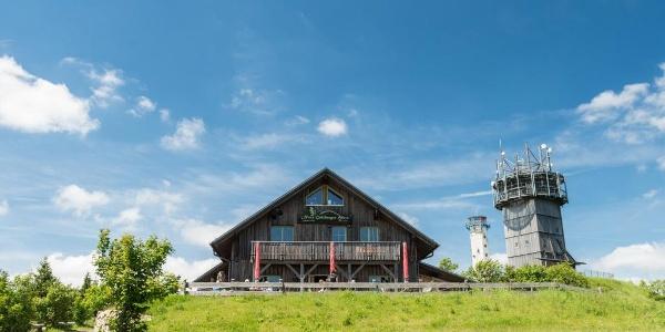Neue Gehlberger Hütte auf dem Schneekopf