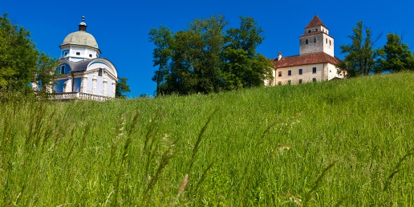 Eggenberger Mausoleum Ehrenhausen und Schloss Ehrenhausen