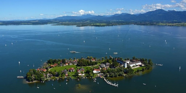 Die Fraueninsel im Chiemsee