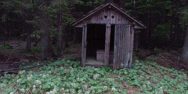 WC bei Zollhütte Holzschlag