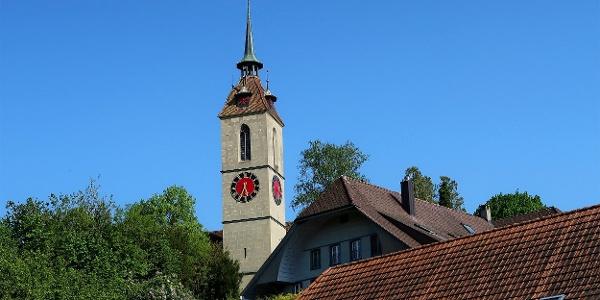 Kirche von Kirchberg BE.
