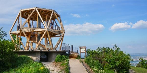 Légvédelmi üteg maradványára épült a Guckler-kilátó