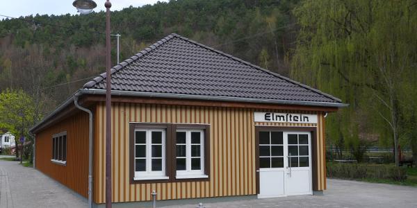 Der Start- und Zielpunkt Bahnhof