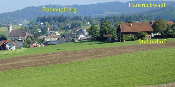 Neukirchen an der Vöckla mit Hausruckwald