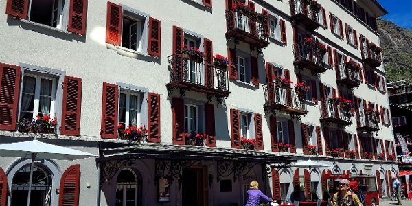 Hotel Monte Rosa.