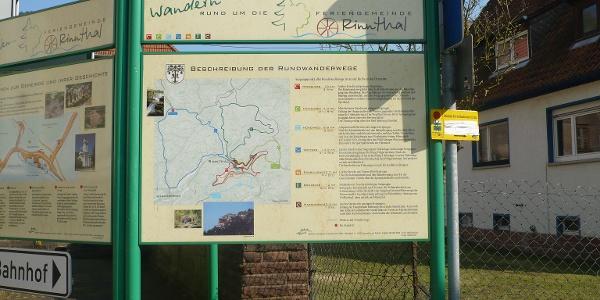 Ausgangspunkt Wanderwege Rinnthal