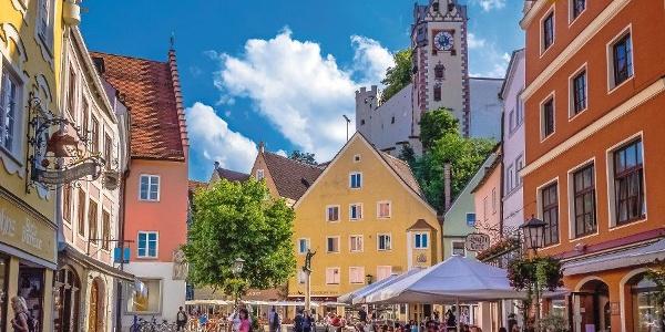Radreise Via Claudia Augusta 1 - Augsburg-Bozen