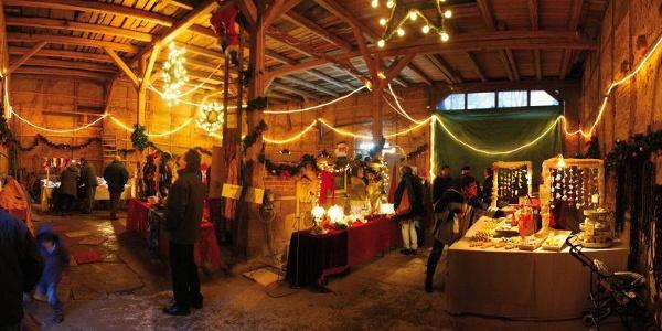 Scheunenweihnachtsmarkt im Landcafé