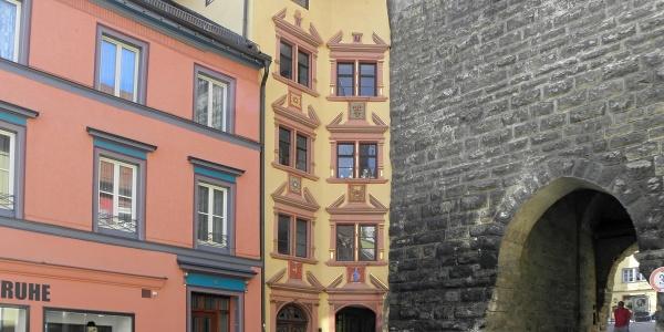 "Bürgerhaus ""Hübscher Winkel"" beim Schwarzen Tor"