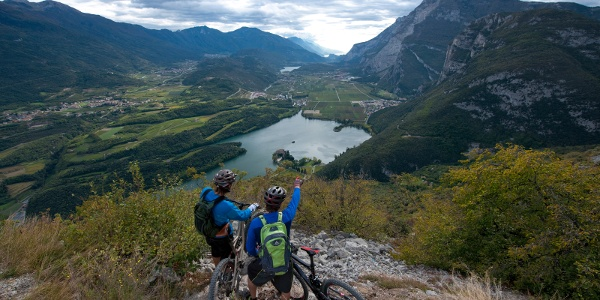 Mountain & Garda Bike (View over the Valle dei Laghi)