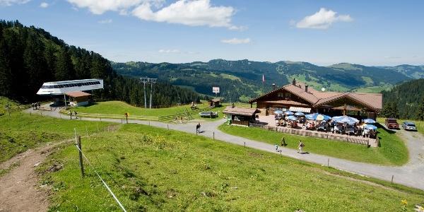 Bergstation Laucheren mit Restaurant Laucheren