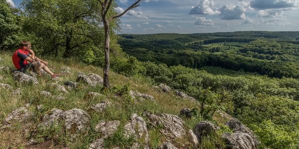 A Grácia-sziklák a Vértesben