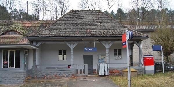 Bahnhof Schopp