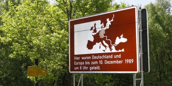 Datum der Grenzöffnung am Kreuzbusch