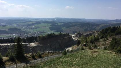 Weitsicht nach Winterberg ......