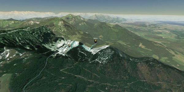 Chiemgau King MTB   3D   BirdEye   official & inofficial trail+