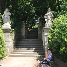 Schlosspark Eingang
