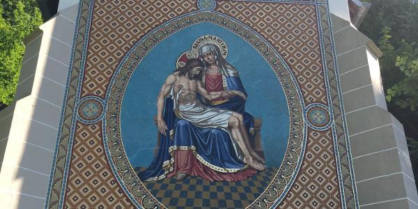 St. Anna Kapelle von hinten