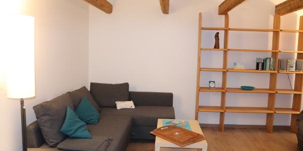 Komfort-Ferienwohnung - Wohnbereich
