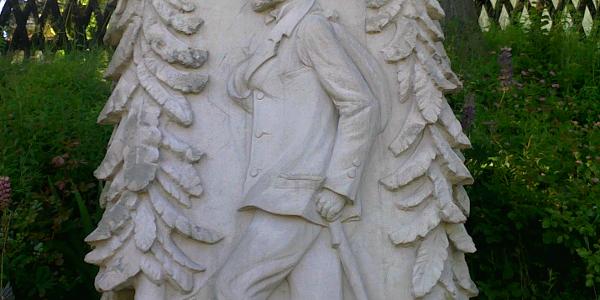 Rennsteigdenkmal in Blankenstein