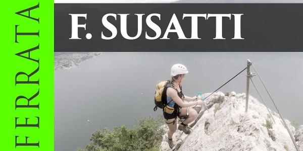 Via ferrata F. Susatti di Cima Capi  – Val di Ledro, Trentino