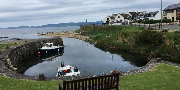 Blackwaterfoot harbour
