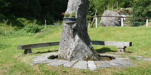 Brunnen in Schental