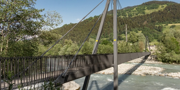 Brücke Castrisch-Schluein