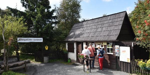 Eingang Georgenfelder Hochmoor