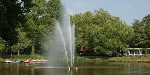 Das Bootshaus am Stadtpark