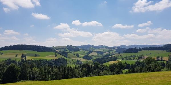 Sicht auf das Napfbergland