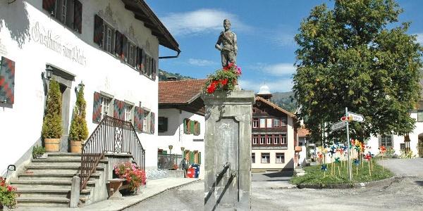Dorfplatz Fideris