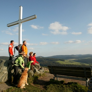 Aussicht auf dem Clemensberg