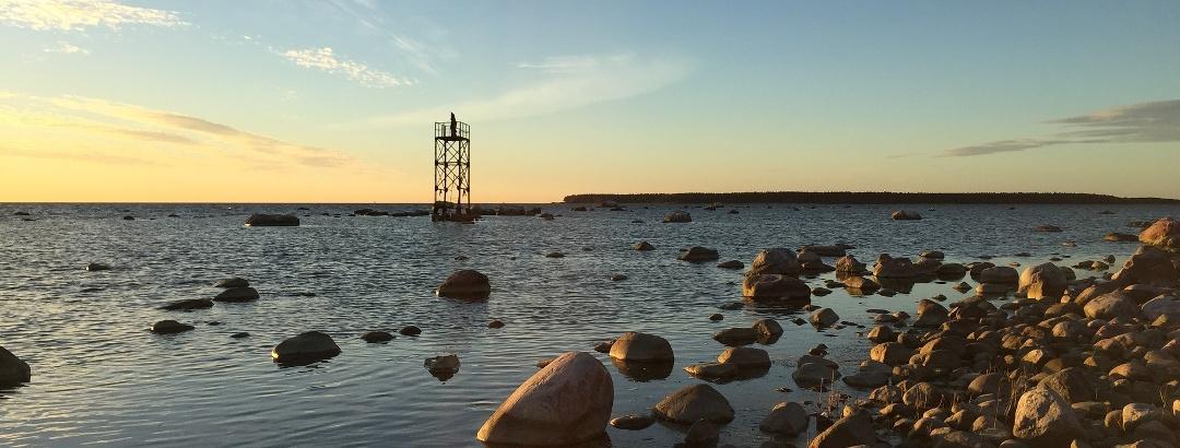 Sonnenuntergang in Estland