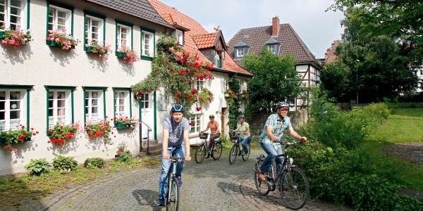 Historische Häuser am Kirchplatz