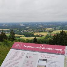 Aussicht von der Schwedenschanze