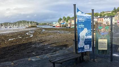 Tarbert Harbour - start point of the Kintyre Way