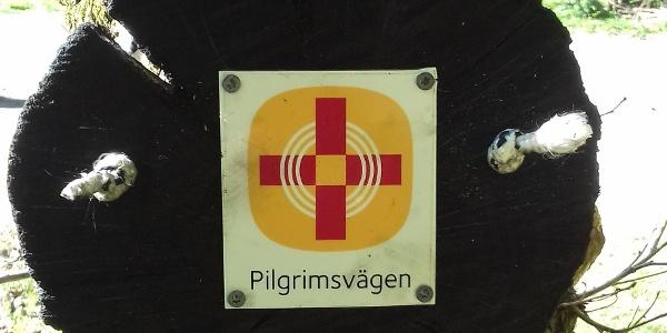 Märkning längs Birgittavägen