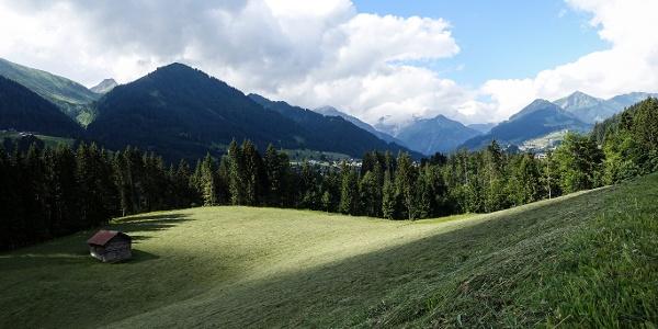 Panorama Straussberg Hörnlepass