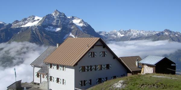 Über den Wolken auf der Ansbacher Hütte