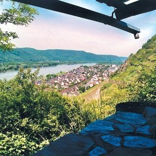 Wingerthäuschen oberhalb von Leutesdorf