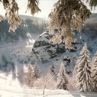 Binge Geyer im Winter