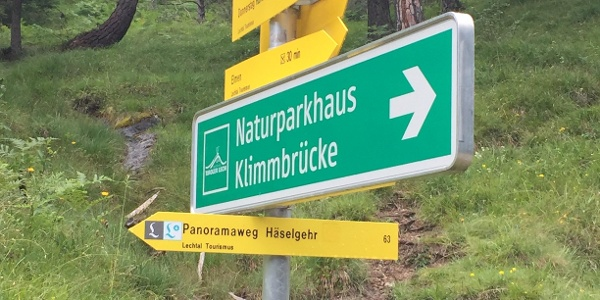 Lech River Trail Signposting