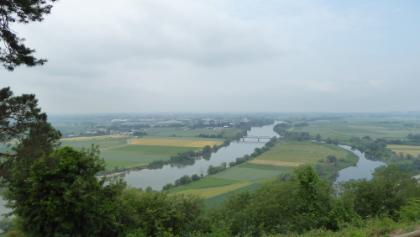 Blick vom Bogenberg nach Straubing