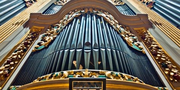große Silbermann-Orgel im Dom St. Marien