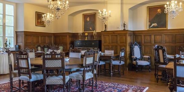 Historischer Frühstücksraum