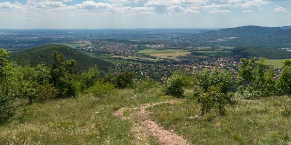 Z Nagy-Kevély smerom na Budapešť