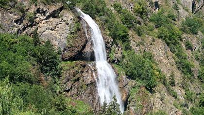 Cascade de la Pissevache.